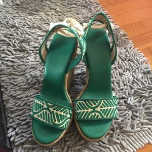 DVF wedge sandals!